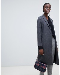 Abrigo a cuadros gris de Vero Moda