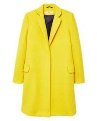 Abrigo Mujeres Comprar Mango Amarillo Moda Un Para 55qYHAg