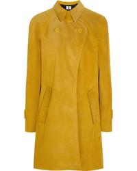 Abrigo amarillo de Topshop