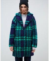 Abrigo Azul Marino y Verde