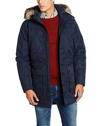 Abrigo azul marino de Selected