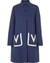 Abrigo azul marino de Valentino