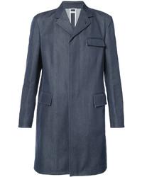 Abrigo azul de Thom Browne