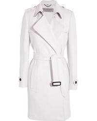 Abrigo blanco de Burberry