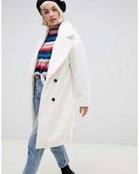 Abrigo blanco de Glamorous