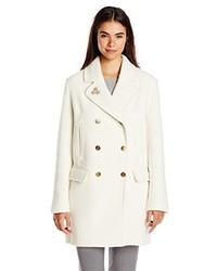 Abrigo blanco de Maison Scotch
