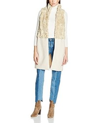Abrigo blanco de New Look