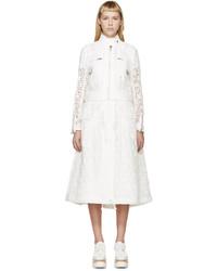 Abrigo blanco de Sacai