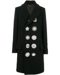 Abrigo con adornos negro de Givenchy