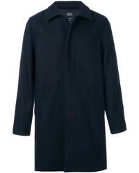 Abrigo de lana azul marino de A.P.C.