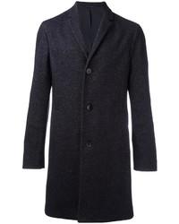 Abrigo de lana azul marino de Calvin Klein