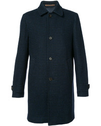 Abrigo de lana azul marino de Eleventy