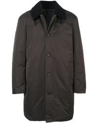 Abrigo de lana en gris oscuro de Jil Sander