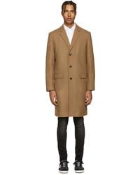 Abrigo de lana marrón claro de Tiger of Sweden