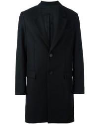 Abrigo de lana negro de AMI Alexandre Mattiussi