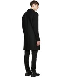 Abrigo de lana negro de Diesel