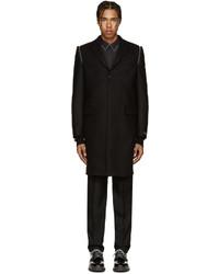 Abrigo de lana negro de Givenchy