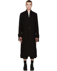 Abrigo de lana negro de Isabel Benenato