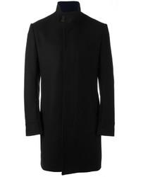 Abrigo de lana negro de Kenzo