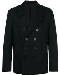 Abrigo de lana negro de Neil Barrett