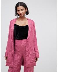Abrigo de paisley rosado de For Love And Lemons