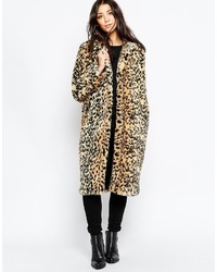Abrigo de piel medium 381758