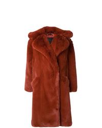 Abrigo de piel en tabaco de Givenchy