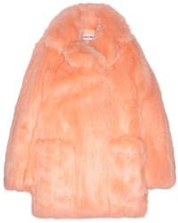 Abrigo de piel naranja de See by Chloe