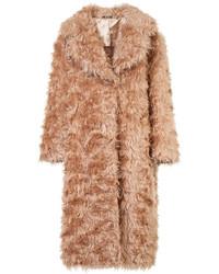 Abrigo de piel rosado de Maison Margiela
