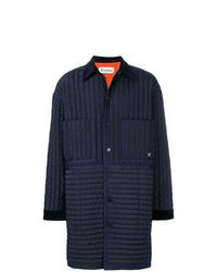 Abrigo de plumón azul marino de Études