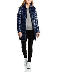 Abrigo de plumón azul marino de Calvin Klein