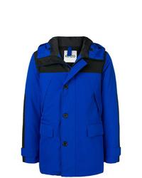 Abrigo de plumón azul de Kenzo