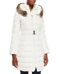 Abrigo de plumon blanco original 10109523