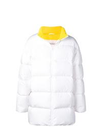 Abrigo de plumón blanco de Calvin Klein Jeans Est. 1978