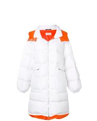 Abrigo de plumón blanco de Maison Margiela