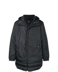Abrigo de plumón en gris oscuro de Diesel