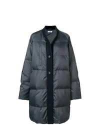 Abrigo de plumón en gris oscuro de Jil Sander