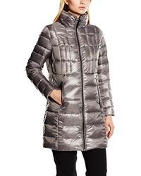 Abrigo de plumón gris de Calvin Klein