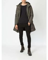 Abrigo de plumón marrón de Masnada