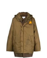 Abrigo de plumón marrón de Oamc