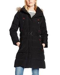Abrigo de plumón negro de Aigle