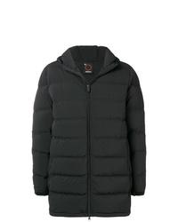 Abrigo de plumón negro de Aspesi