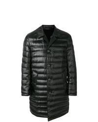 Abrigo de plumón negro de Burberry