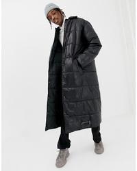 Abrigo de plumón negro de Cheap Monday