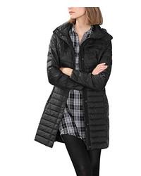 Abrigo de plumón negro de edc by Esprit