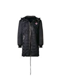 Abrigo de plumón negro de Givenchy