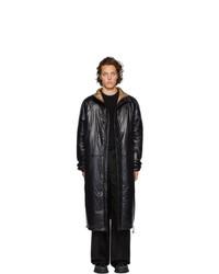 Abrigo de plumón negro de Kassl Editions