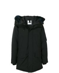 Abrigo de plumón negro de Kenzo