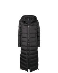 Abrigo de plumón negro de Marcelo Burlon County of Milan