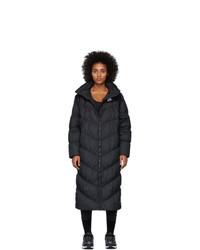 Abrigo de plumón negro de Nike